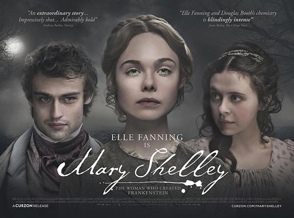 Elle Fanning, Mary Shelley | 13 Temmuz 2018 Cuma Sinemalarda