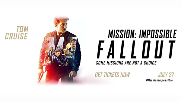 Tom Cruise Mission: Impossible - Fallout | 27 Temmuz 2018 Cuma Sinemalarda