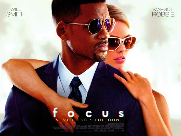 WILL SMITH & MARGOT ROBBIE 'FOCUS' 20 MART'TA S�NEMALARDA!