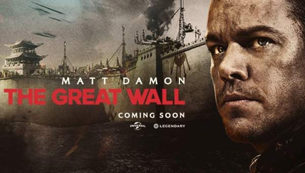 Matt Damon 'The Great Wall - Çin Seddi' 30 Aralýk'ta Sinemalarda!