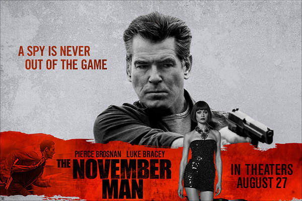 'THE NOVEMBER MAN' 12 EYL�L'DE S�NEMALARDA!