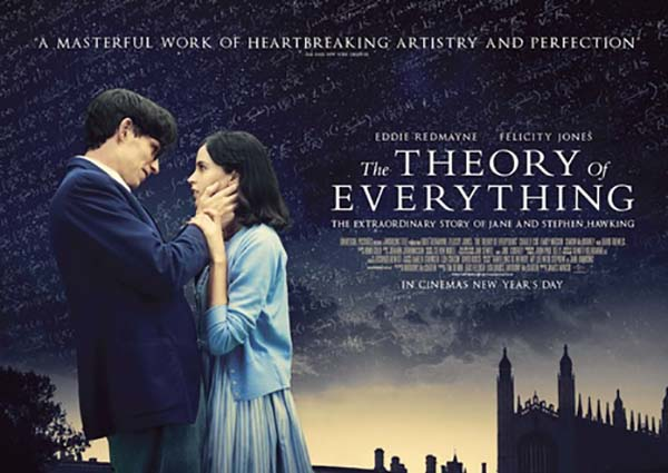 'THE THEORY OF EVERYTHING' 27 �UBAT'TA S�NEMALARDA!