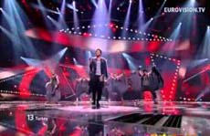 Eurovision 2012 Yarı Final, Can Bonomo, Love Me Back